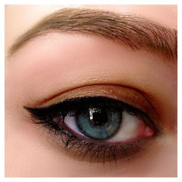 Mineral Gel Eyeliner Pot In INTENSE BLACK All Natural Organic Eyeliner... ❤ liked on Polyvore