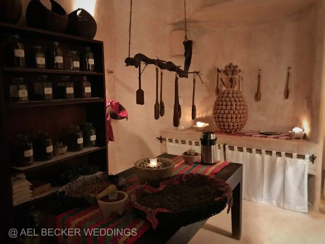 Organic Spa kitchen at Hotel Esencia in Xpuha Beach, Mexico. Ael Becker Weddings