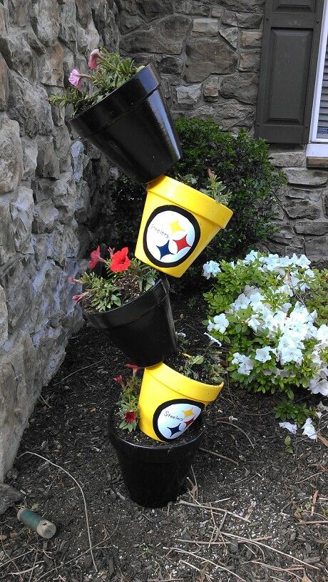 PITTSBURGH STEELERS ~Stillers garden decor