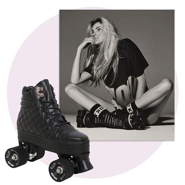 Skating away: a @ellusjeansdeluxe investe ainda mais no mundo do esporte e lança em junho a linha Ellus Roller, composta por patins de quatro rodas com charme vintage e rocker. Os modelos, masculinos e femininos, poderão ser encomendados a partir de 02.06. Saiba mais em vogue.com.br  via ✨ @padgram ✨(http://dl.padgram.com)
