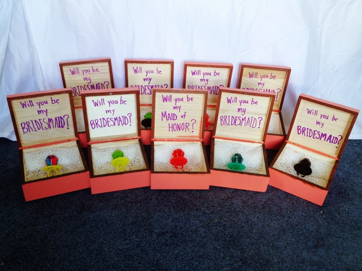 How I Asked My 9 Bridesmaids To Be In My Wedding