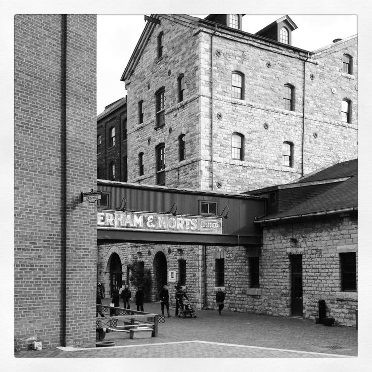 Historic Distillery District, Toronto Ontario