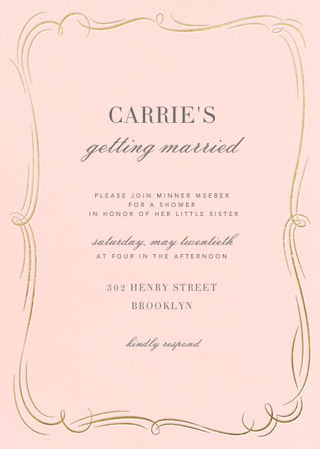 17 best images about bridal shower invitations on pinterest oscar de