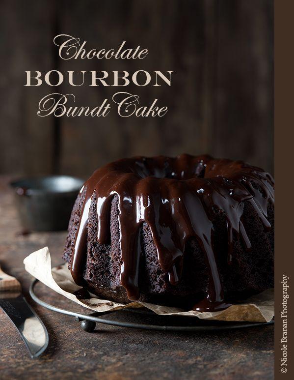 Chocolate Bourbon Bundt Cake Recipe | The Spice Train