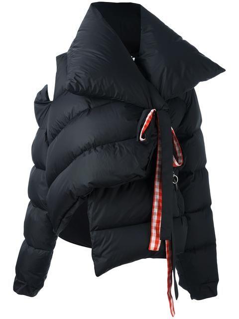 Down Jacket for Women, Puffer Ski Jacket On Sale, Black, polyamide, 2017, 10 6 Marques Almeida