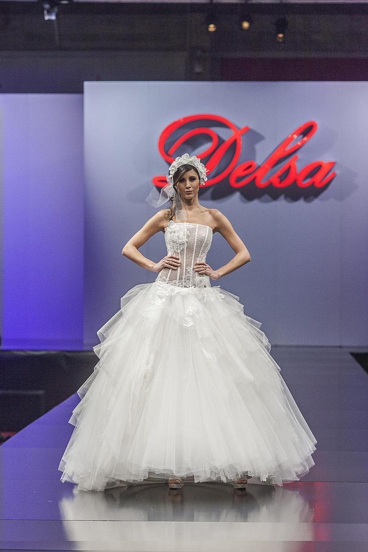 Delsa Couture collection D6518
