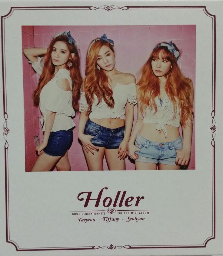 Girls' Generation TAETISEO CD Second Mini Album  TAEYEON, TIFFANY, SEOHYUN K-POP