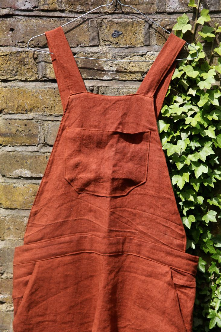 How to make Linen overalls.  This should complete my Redneckabilly-fication!