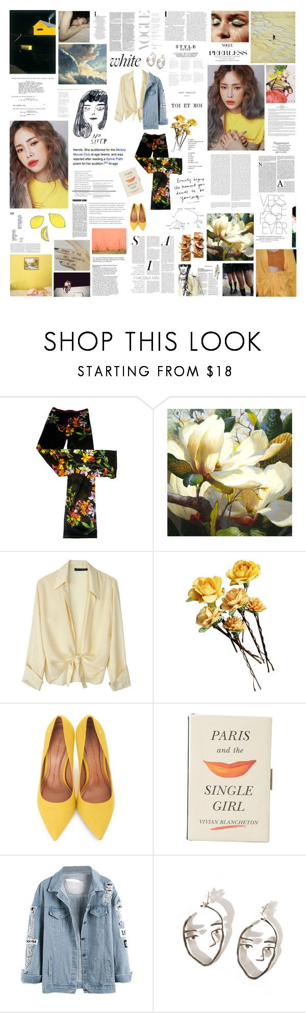 """""""seven suns away"""" by nevi ❤ liked on Polyvore featuring Lindsey Thornburg, Strange Days, Moda In Pelle, Kate Spade, Chloé and Oris"""