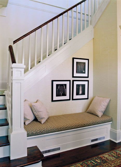 Foyer Seating Near Me : Best stairway bench ideas images on pinterest