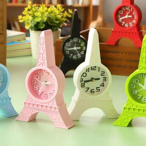 Reloj Despertador Importado Torre Eiffel Paris Diseño - $ 165,00