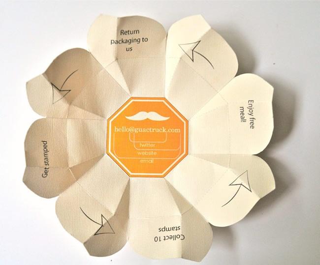 Embalagem sustentável para Guactruck, Manila, Filipinas - Design Atento