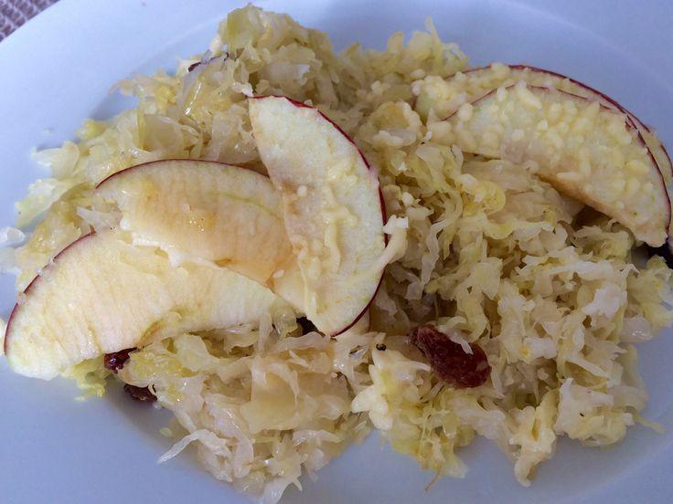 Zuurkoolschotel met appel – Sport Foodblog