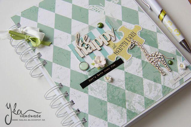 Yka handmade: Na zápisky i čmáranie
