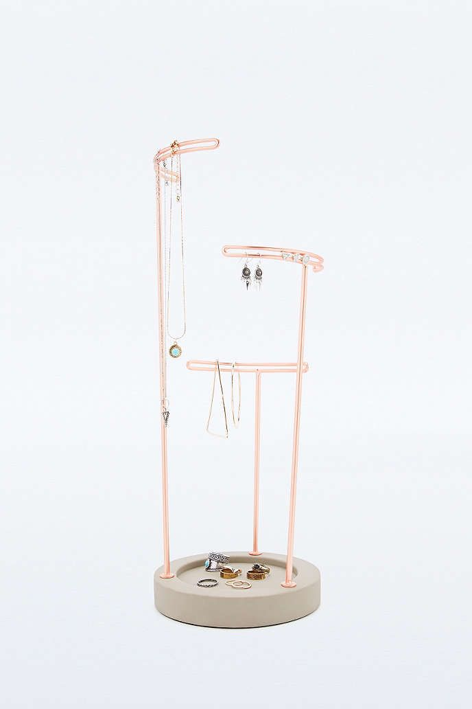 Contemporary jewellery stand