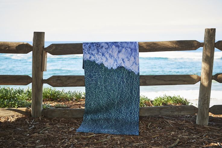 REMY X PRAIA - Limited edition CRYSTAL WAVES Natural Rubber Yoga Mat. Available in store now for $120.00 #yoga #natural #australia #PRAIAyoga #PRAIA
