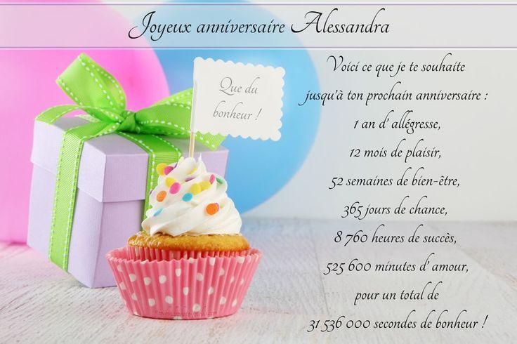 Cartes virtuelles joyeux anniversaire Alessandra                                                                                                                                                                                 Plus