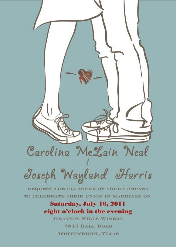 Personality Wedding Invitations!!