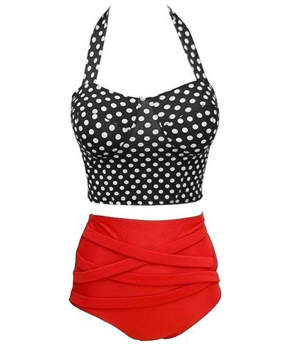 The bathing suit I got from sammydress. Hides my tummy and still makes me feel classy.