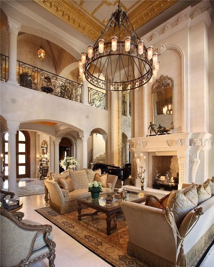 Rate This Great Room From 1 To 10 Homes Mansion Mansions Luxury Lifestyle Home Design Formal Living Room Decor Luxury Living Room House Design #rich #luxury #living #room