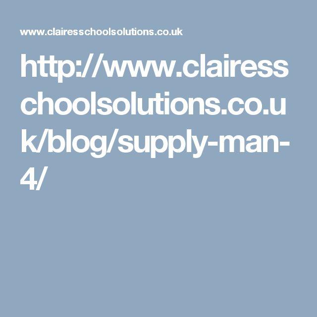 Supply Man Blog Jan 2017  http://www.clairesschoolsolutions.co.uk/blog/supply-man-4/ #supplyman #supplyteaching #substitute #teaching #teacher #primaryschool #education #teachingblog #educationblog
