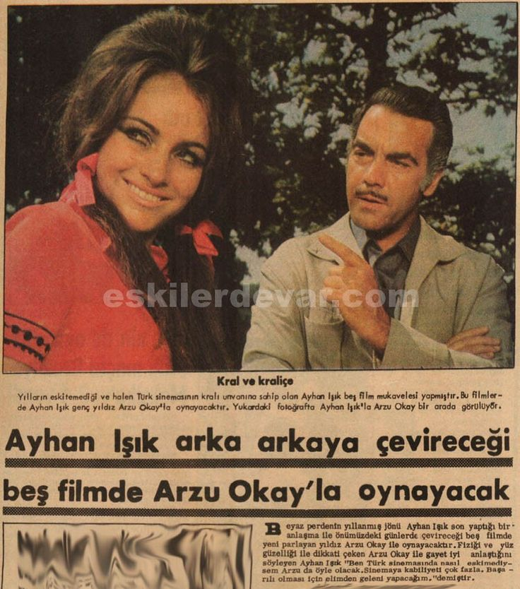 Ayhan Işık, Arzu Okay ile 5 film çevirecek. eskilerdevar.com