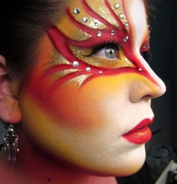 Makeup Designs   ... makeup designs for women incoming search terms creative makeup designs Kara's costume