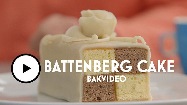 Battenberg cake, video, Heel Holland Bakt