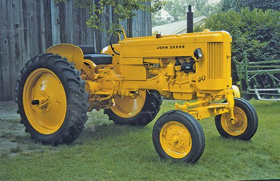 How John Deere's Small Tractors Replaced the Horse - Tractors - Farm Collector