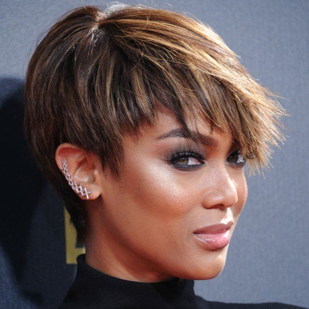 Amazing 1000 Ideas About Tyra Banks Short Hair On Pinterest Haircut Short Hairstyles Gunalazisus