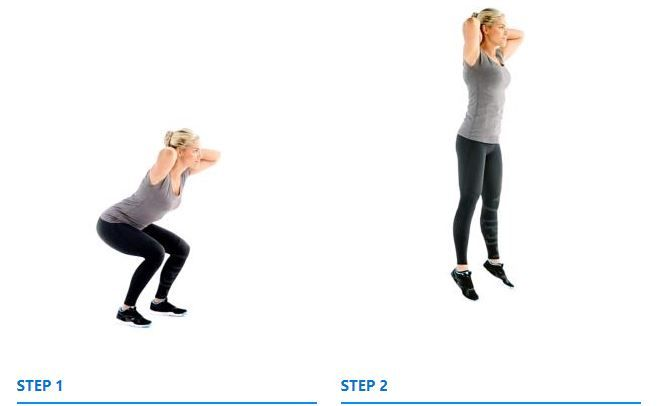 How To Do: Jump squats - Gym Guider