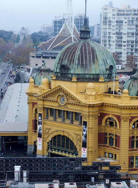 Flinders Street Station, Melbourne, Victoria. Australia.