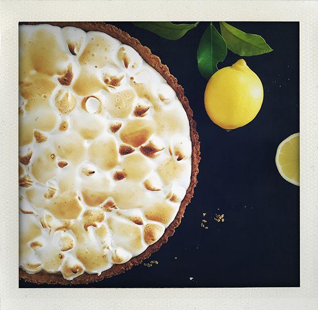 Lemon meringue pie (I huvudet på Elvaelva).