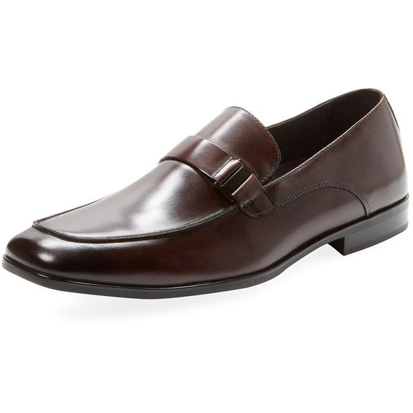 Kenneth Cole Men's Fare Game Loafer - Brown - Size 10 ($89) ❤ liked on Polyvore featuring men's fashion, men's shoes, men's loafers, brown, mens loafers, mens brown loafers, mens brown loafer shoes, mens loafer shoes and kenneth cole mens shoes