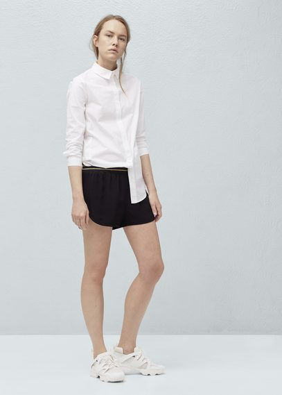 Shorts mit tunnelzug | MANGO