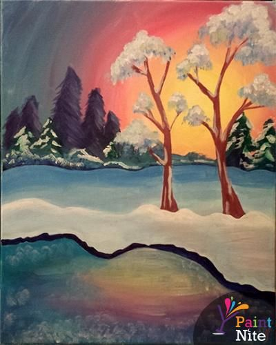 Paint Nite Philadelphia | Dave and Busters 01/12/2015