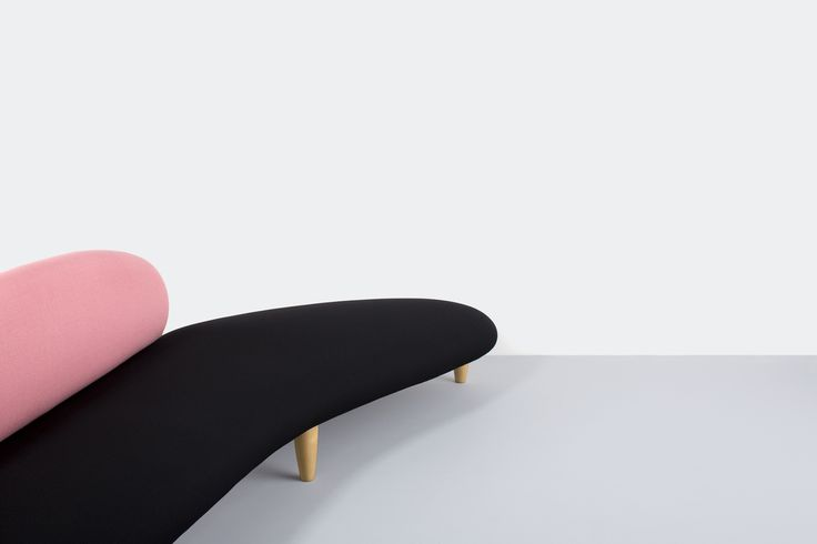The Noguchi Freeform sofa in Kvadrat/Raf Simons textiles from the 2014 collection.  Photo by Anne Collier.