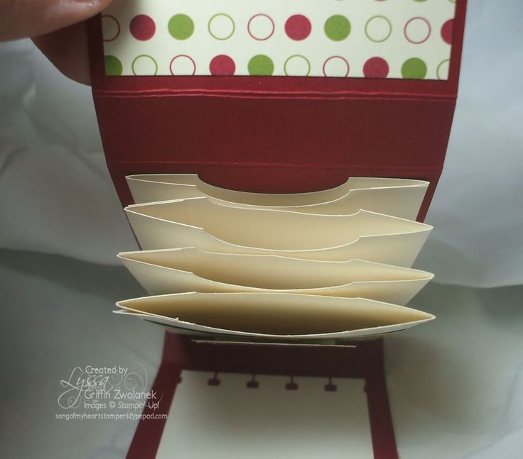 Multi-Pocket Gift Card Holder free tutorial with all scoring instructions at Song of My Heart Stampers.com