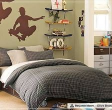 What Do 13-Year-Old Boys Decorate Their Rooms With? Skateboard ShelvesSkateboard  RoomTeen ...