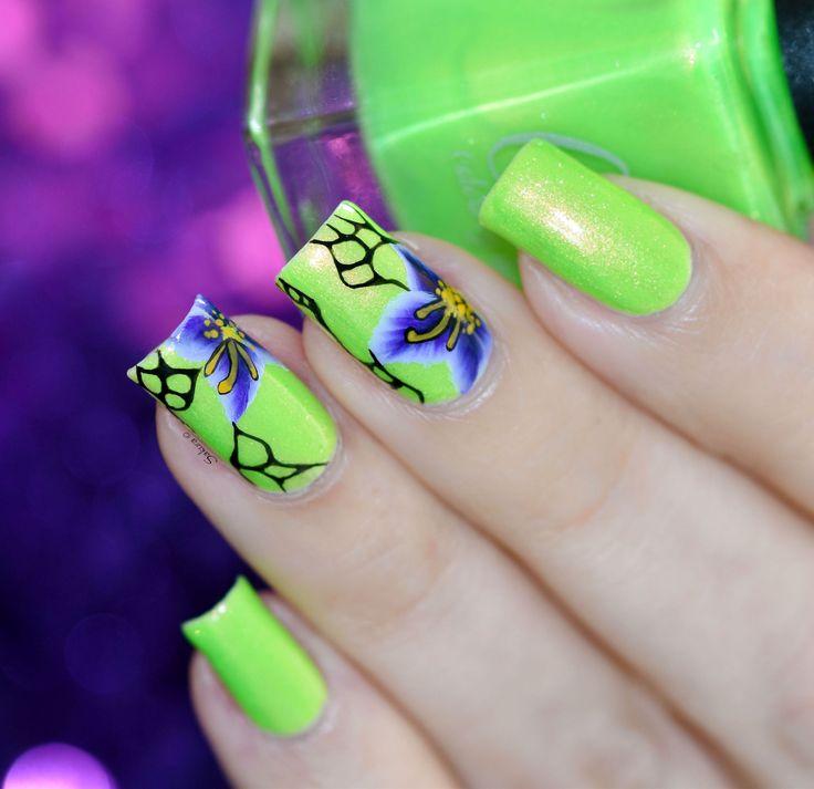 Mejores 511 imágenes de CbL Nail Art Designs en Pinterest | Diseños ...