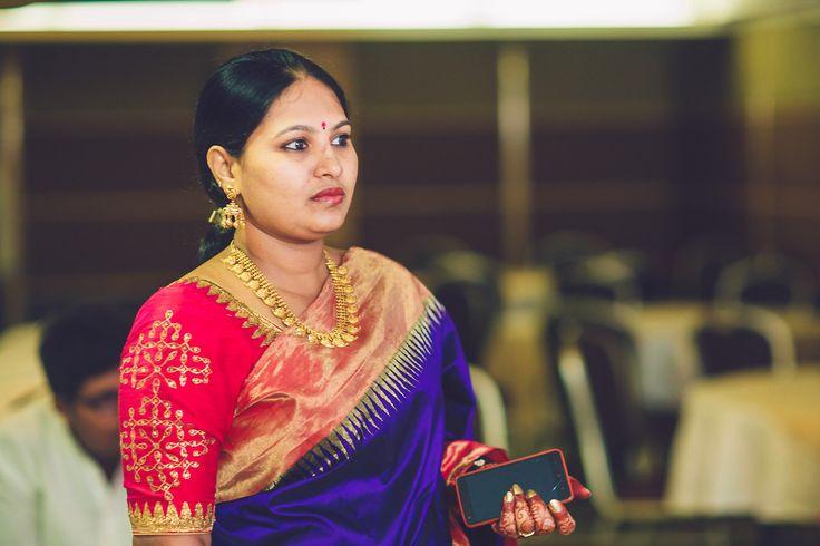 Outfit : Prakash Sarees, Kancheepuram Location : Minerva Grand Photography : Kishor Krishnamoothi