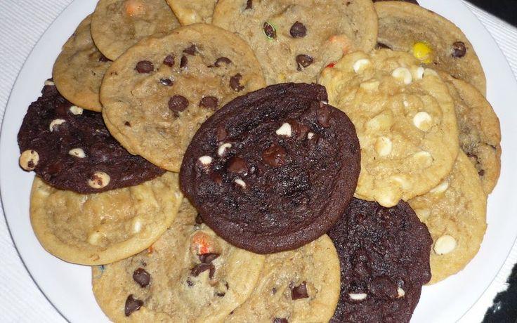 Vrais cookies américains › Cuisine Étudiant