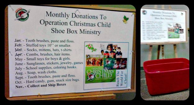 Are you having a Church-wide Operation Christmas Child packing party?  Here is a great way to encourage YOUR congregation to donate..