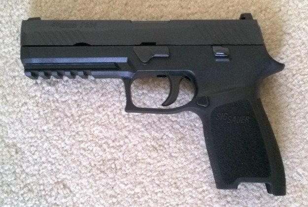 SIG Sauer P320 Review   Features, Application and Observations closed