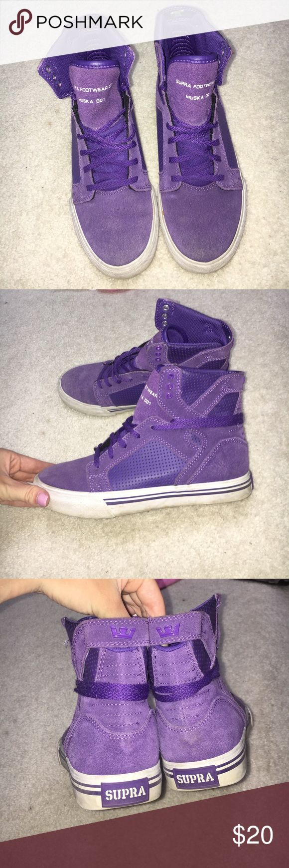 SUPRA HIGH TOPS GREAT CONDITION just don't wear anymore Supra Shoes Sneakers