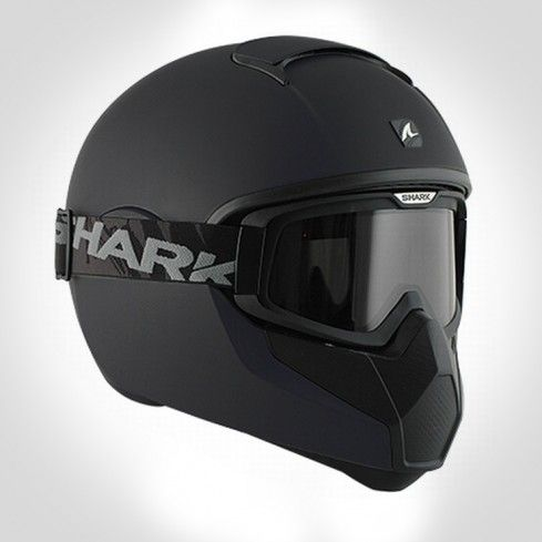 SHARK VANCORE ROAD WARRIOR MATTE BLACK 3