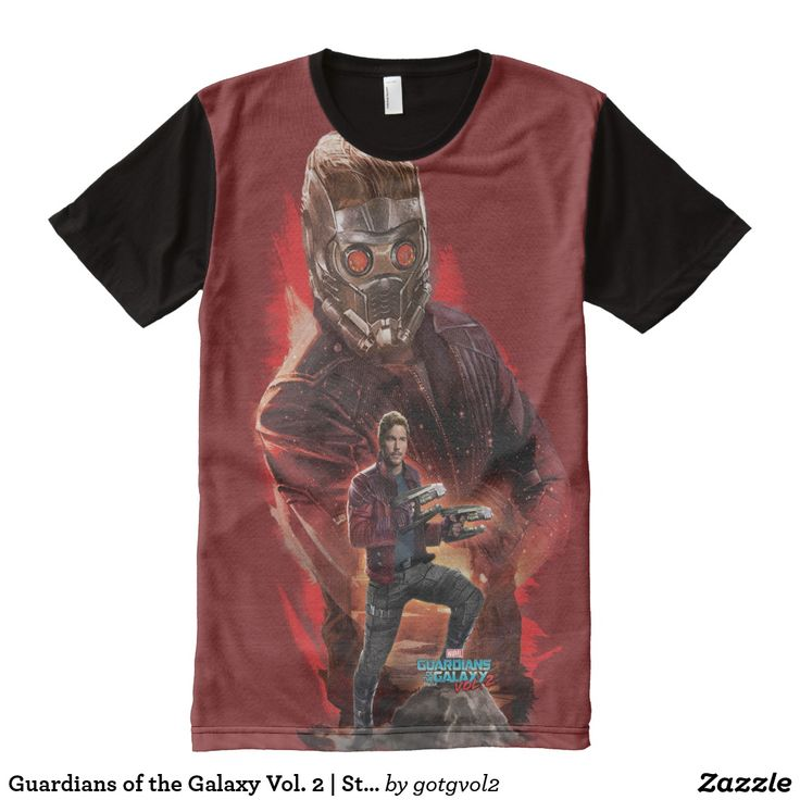 Guardians of the Galaxy Vol. 2 | Star-Lord Collage All-Over-Print T-Shirt
