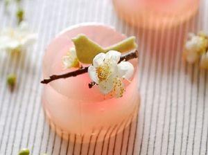 янонские десерты из желе-сакура-4