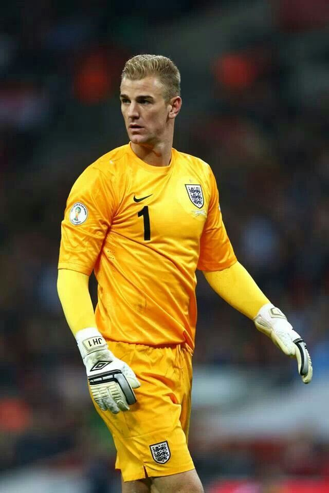 Joe Hart my fave goalie