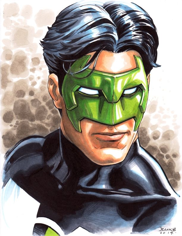 Kyle Rayner by Darryl Banks